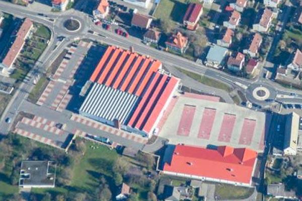 Revitalisierung, Textilfabrik Gönner - Atrium-Ullmann Gmbh