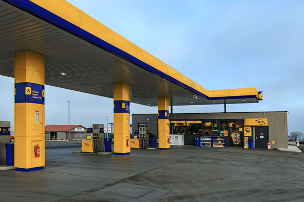 JET Tankstelle - Atrium-Ullmann Gmbh - Ehingen Donau